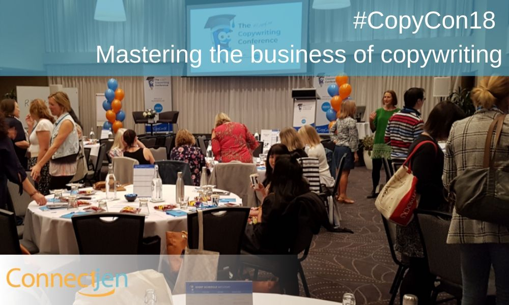 #CopyCon18 – Mastering the business of copywriting